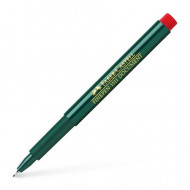 Faber-Castell 0.4mm Finepen Pen Red