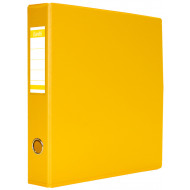 Bantex A4 40mm PVC Lever Arch File Yellow
