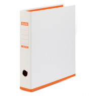 Bantex A4 40mm PP Lever Arch File Two Tone Orange