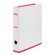 Bantex A4 40mm PP Lever Arch File Two Tone Pink
