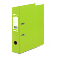 Bantex A4 70mm Paper Casemade Lever Arch File Lime Green