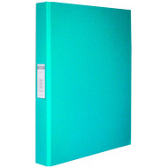 Bantex A4 25mm O-Ring PP Ringbinder Turquoise