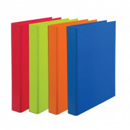 Bantex A4 25mm D-Ring Paper Casemade Ringbinder Lime Green
