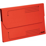 Bantex A4 Smart Document Wallet 10's Red