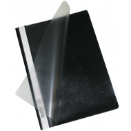Bantex A4 Quotation Folder Black