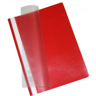 Bantex A4 Quotation Folder 10's Red