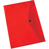 Bantex A4 PP Document Envelope Red