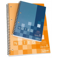 Bantex A4 Soft Cover Spiral Bound Note Book