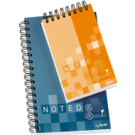 Bantex A6 Soft Cover Spiral Bound Note Book