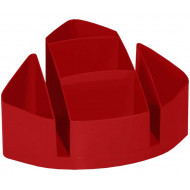 Bantex Desk Organiser Red