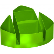 Bantex Desk Organiser Lime Green