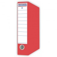 Donau A4 Board File Lever Arch Red