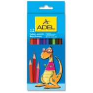 Adel Colour Pencils 12's