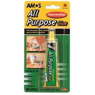 Amos Clear All Purpose Glue 30ml
