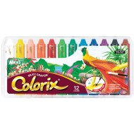 Amos Colorix 3 In 1 Crayons 12's
