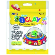 Amos iClay 50g White