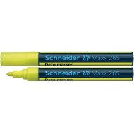 Schneider Maxx 265 Liquid Chalk Marker Yellow