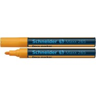 Schneider Maxx 265 Liquid Chalk Marker Orange