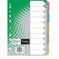 Croxley Rainbow Board Index Tabs 1 - 5