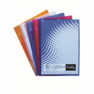Croxley A4 Presentation Folder Assorted Colours 5's