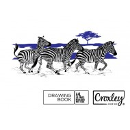 Croxley A4L 24 Page Drawing Book