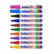 Artline EK90 Chisel Point Permanent Marker 12's