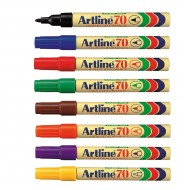Artline EK70 Bullet Point Permanent Marker 12's