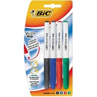 Bic Velleda Fine Point Whiteboard Marker 4's