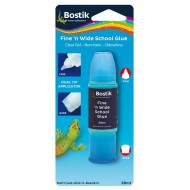 Bostik Fine & Wide School Clear Glue