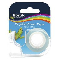 Bostik Crystal Clear Tape 18mm x 20m