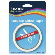 Bostik Double Sided Tape 18mm x 10m