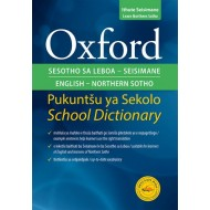 Oxford Sesotho / English School Dictionary