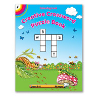 Educat Creative Crossword Puzzle Activity Book 80page