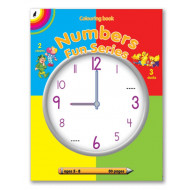 Educat Number Fun Series Activity Book 80page