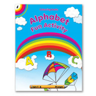Educat Alphabet Fun Activity Book 80page