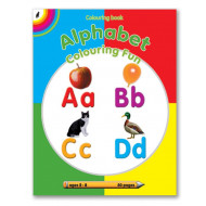 Educat Alphabet Colour Fun Activity Book 80page