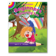 Educat Beginners Colouring Fun 24page