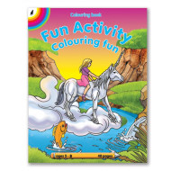 Educat Fun Activity Colouring Book 48page