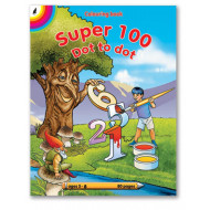 Educat Super Dot to Dot Colouring Book 80page