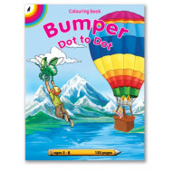 Educat Bumper Dot to Dot Colouring Book 120page