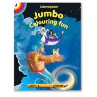 Educat Jumbo Colouring Fun 200page