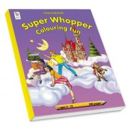 Educat Super Whopper Colouring Book 220page