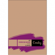 Croxley A5 72 Page Unruled Exercise Book