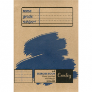 Croxley A4 32 Page Speckled Line Exercise Book