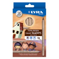 Lyra Colour Giants Skin Tones Colour Pencils 12's