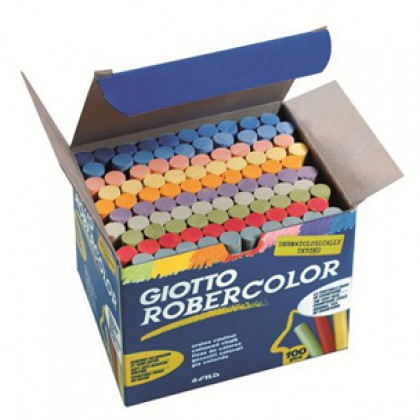 Giotto Robercolor Coloured Chalk 100's