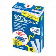 Giotto Robercolor White Chalk 10's