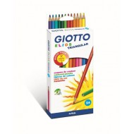 Giotto Elios Tri Colour Pencils 24's
