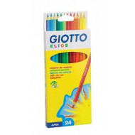 Giotto Elios Colour Pencils 24's