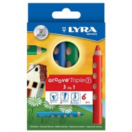 Lyra Groove Triple 1 Pencils 6's